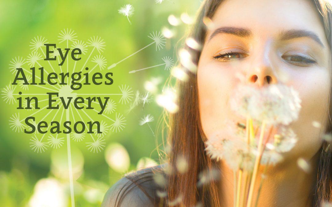 Eye Allergies in Every Season